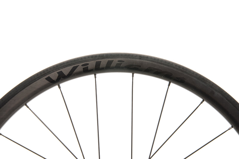 Williams System 38 Carbon Clincher 700c Wheelset cockpit