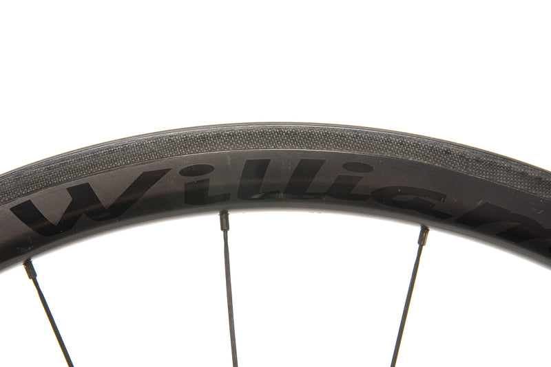 Williams System 38 Carbon Clincher 700c Wheelset crank