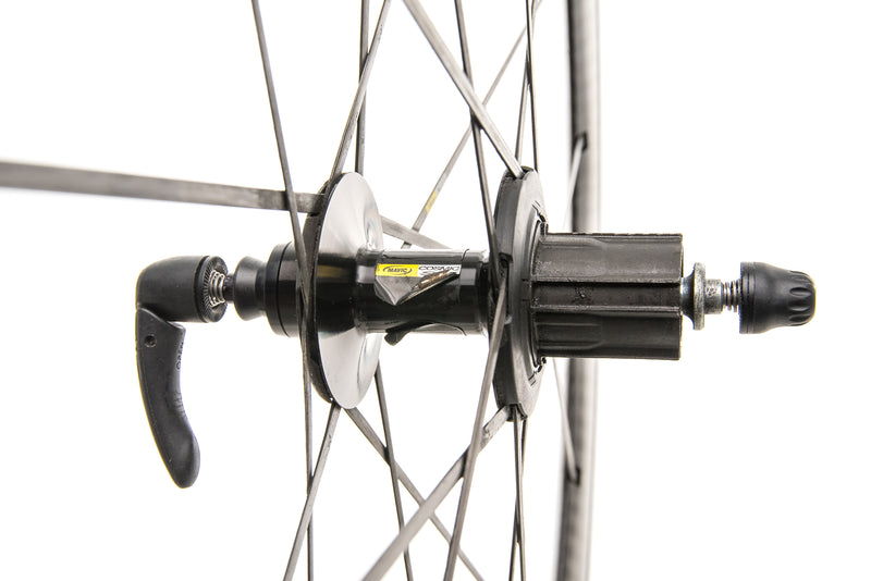 Mavic Cosmic Carbone SR Aluminum Carbon Clincher 700c Wheelset sticker