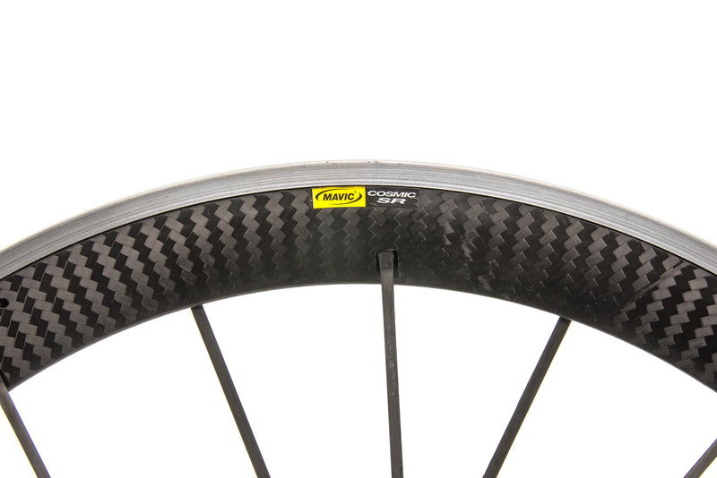 Mavic Cosmic Carbone SR Aluminum Carbon Clincher 700c Wheelset cockpit