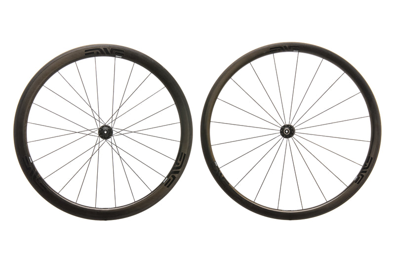 ENVE SES 3.4 Carbon Clincher 700c Wheelset non-drive side