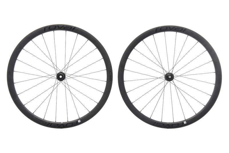 Roval C38 Disc Carbon Tubeless 700c Wheelset drive side