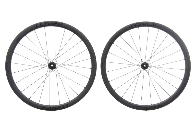 Roval C38 Disc Carbon Tubeless 700c Wheelset non-drive side