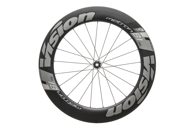 Vision Metron 81 SL TLR Carbon Tubeless 700c Front Wheel drive side