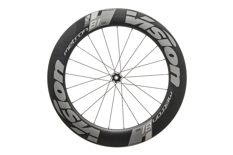 Vision Metron 81 SL TLR Carbon Tubeless 700c Front Wheel non-drive side