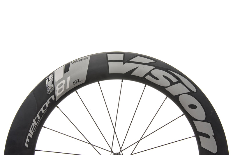 Vision Metron 81 SL TLR Carbon Tubeless 700c Front Wheel front wheel