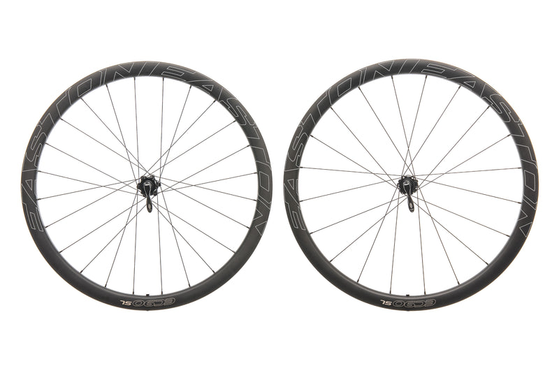 Easton EC90 SL Carbon Clincher 700c Wheelset non-drive side