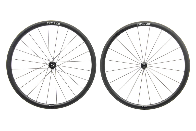 DT Swiss PRC 1100 DiCut 35 Carbon Tubeless 700c Wheelset drive side