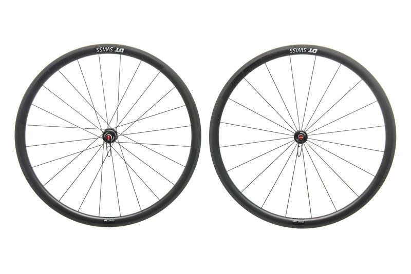 DT Swiss PRC 1100 DiCut 35 Carbon Tubeless 700c Wheelset non-drive side