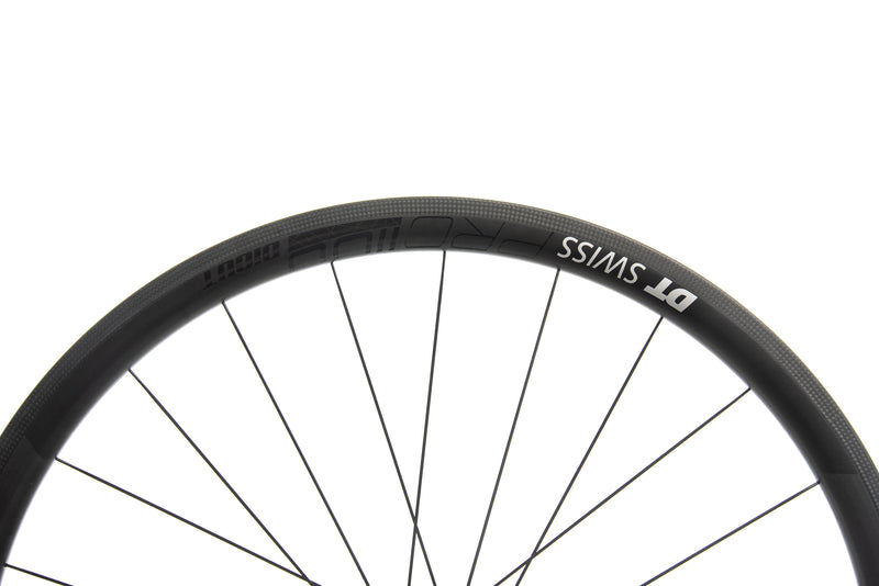 DT Swiss PRC 1100 DiCut 35 Carbon Tubeless 700c Wheelset cockpit