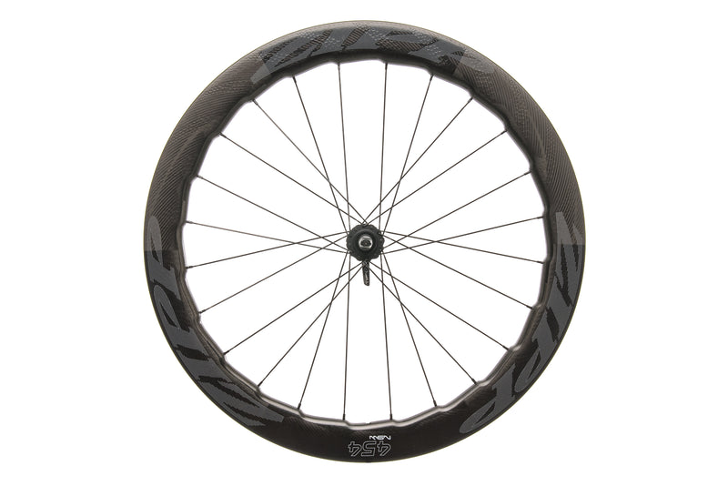 Zipp 454 NSW Disc Carbon Tubular 700c Front Wheel drive side
