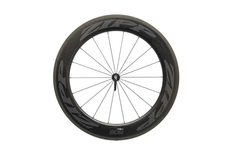 Zipp 808 NSW Carbon Tubeless 700c Front Wheel non-drive side