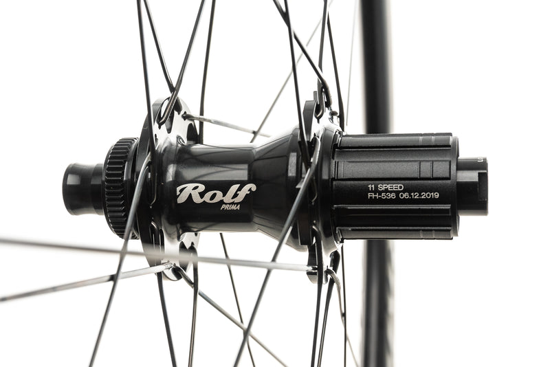 Rolf Prima Vigor ES Disc Aluminum Clincher 700c Wheelset sticker