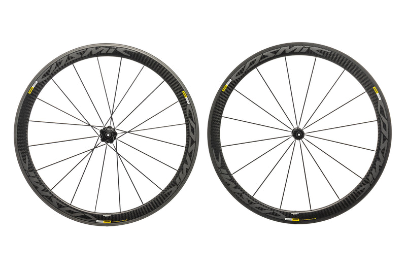Mavic Cosmic Pro Carbon Exalith Carbon Clincher 700c Wheelset non-drive side