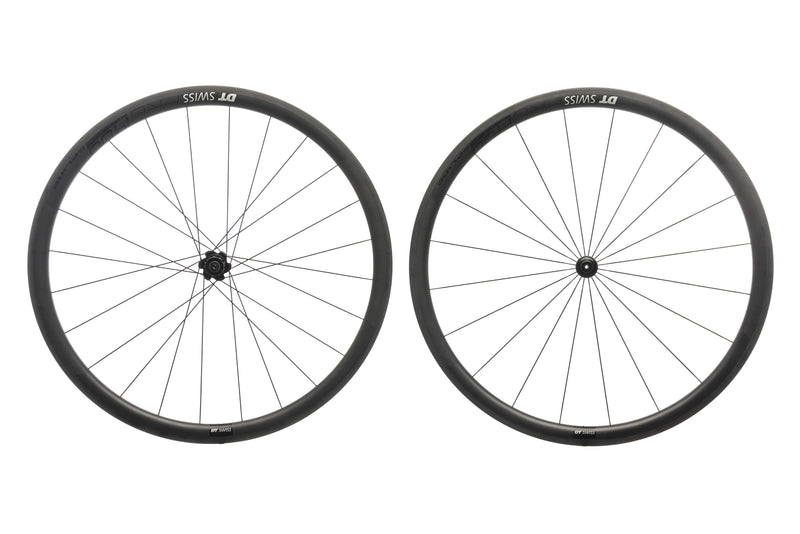 DT Swiss PRC 1400 Spline 35 Carbon Tubeless 700c Wheelset drive side