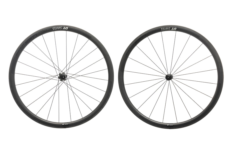 DT Swiss PRC 1400 Spline 35 Carbon Tubeless 700c Wheelset non-drive side