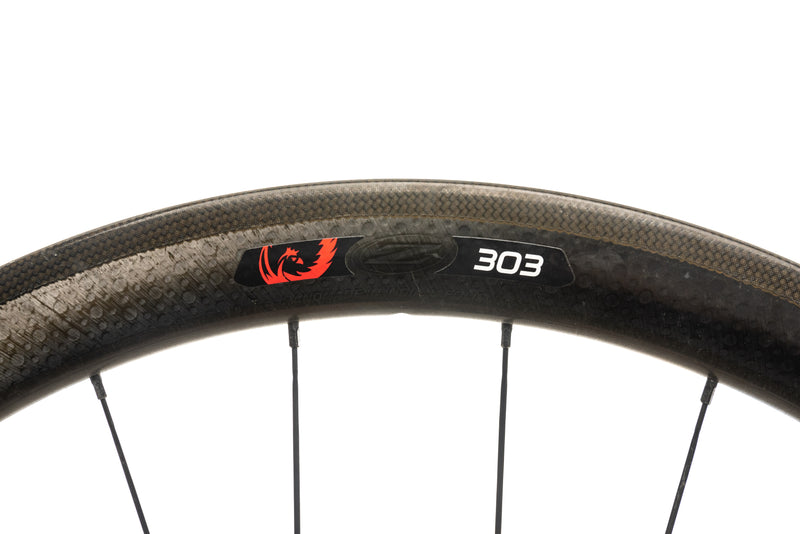 Zipp 303 Firecrest Disc Carbon Clincher 700c Rear Wheel cockpit