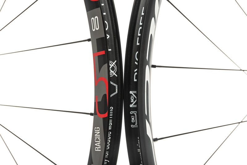 Fulcrum Racing 5 Disc Alloy Clincher 700c Wheelset front wheel