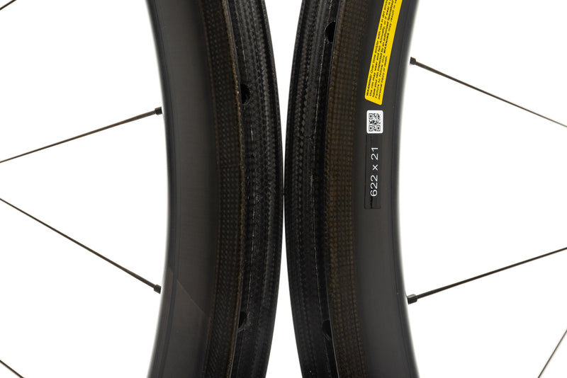Roval CL 50 Rapide Carbon Tubeless 700c Wheelset front wheel