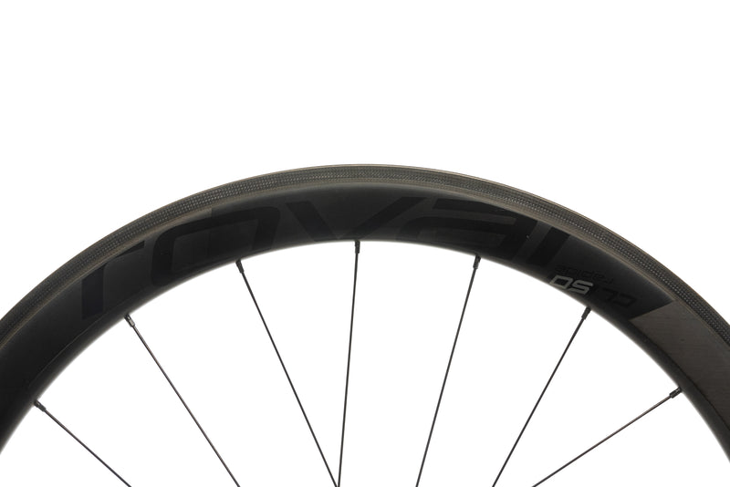 Roval CL 50 Rapide Carbon Tubeless 700c Wheelset cockpit