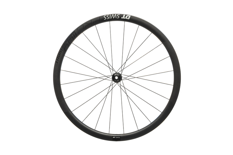 DT Swiss PRC 1100 DiCut Road Bike Front Wheel 700c Carbon Tubeless 12x100mm drive side