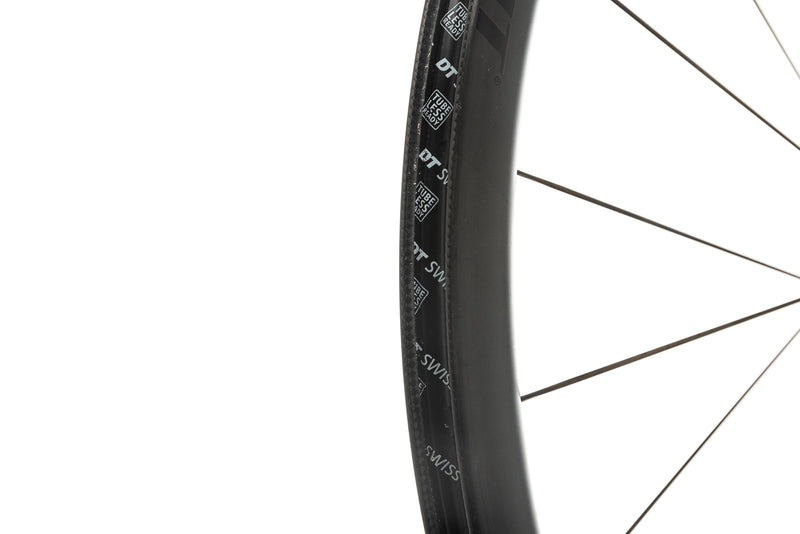 DT Swiss PRC 1100 DiCut Road Bike Front Wheel 700c Carbon Tubeless 12x100mm sticker
