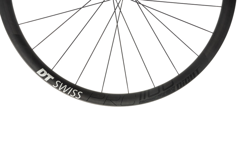 DT Swiss PRC 1100 DiCut Road Bike Front Wheel 700c Carbon Tubeless 12x100mm front wheel
