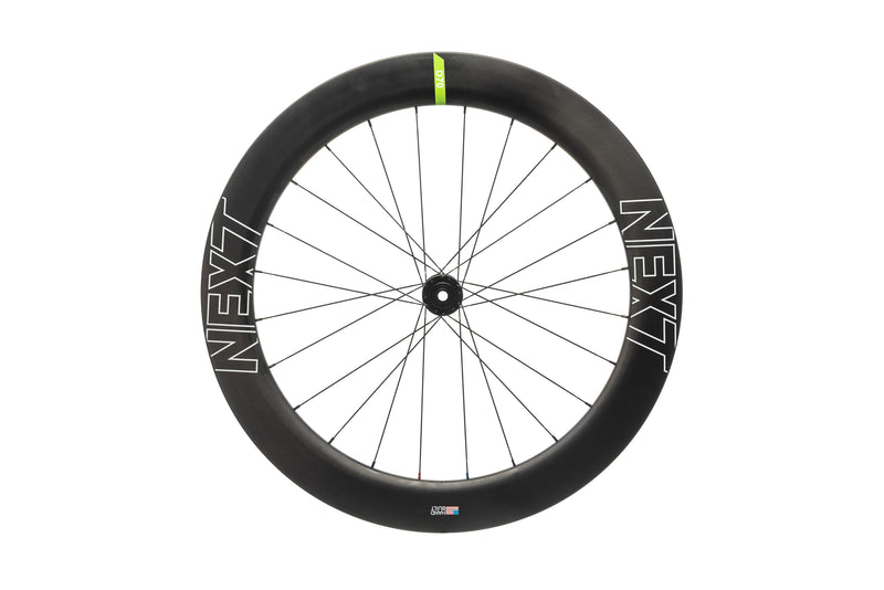 NEXT D70 Disc Carbon Clincher 700c Front Wheel drive side
