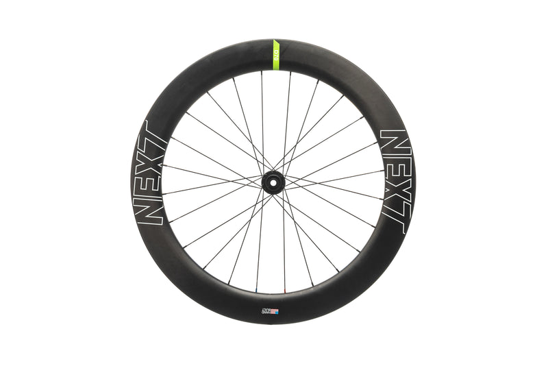 NEXT D70 Disc Carbon Clincher 700c Front Wheel non-drive side