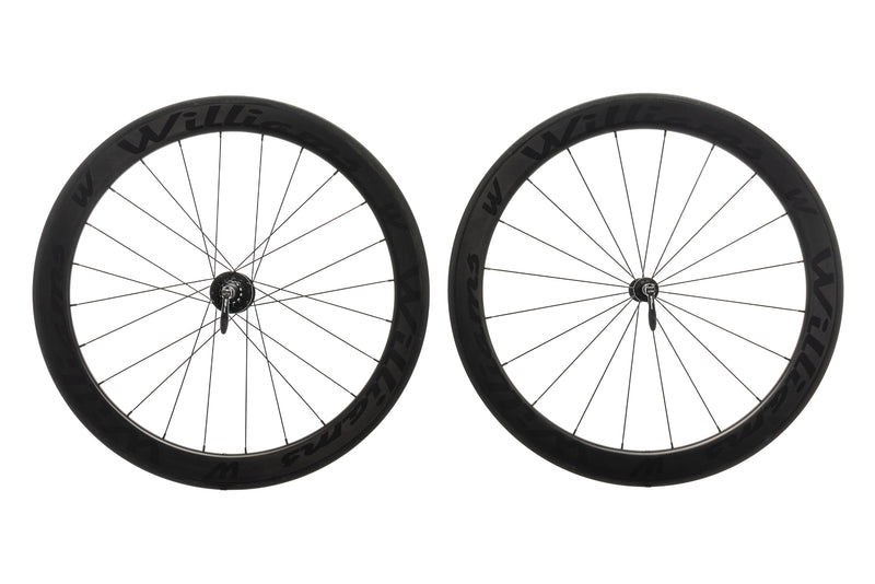 Williams System 58 Carbon Clincher 700c Wheelset non-drive side