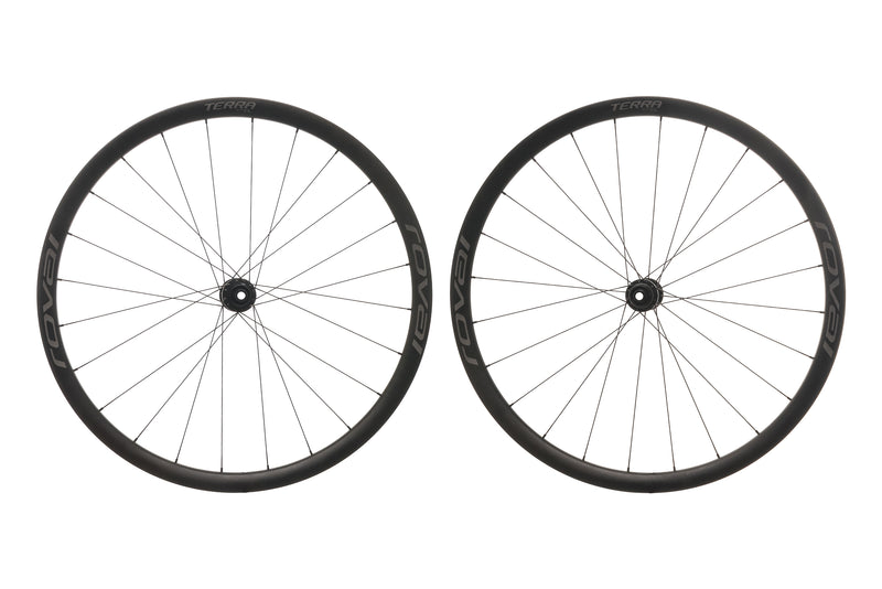 Roval Terra CL Carbon Tubeless 700c Wheelset non-drive side