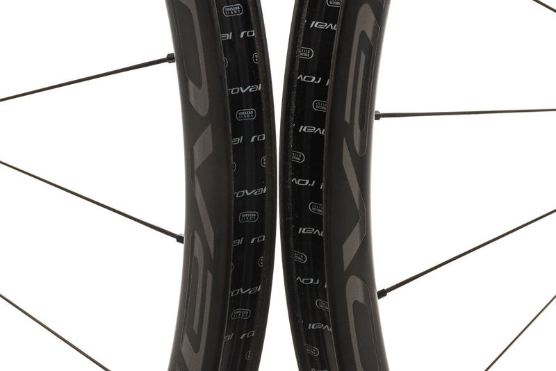 Roval Terra CL Carbon Tubeless 700c Wheelset front wheel