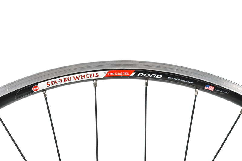 Sta Tru Road Bike Rear Wheel 10 Speed Shimano Aluminum Clincher QR front wheel