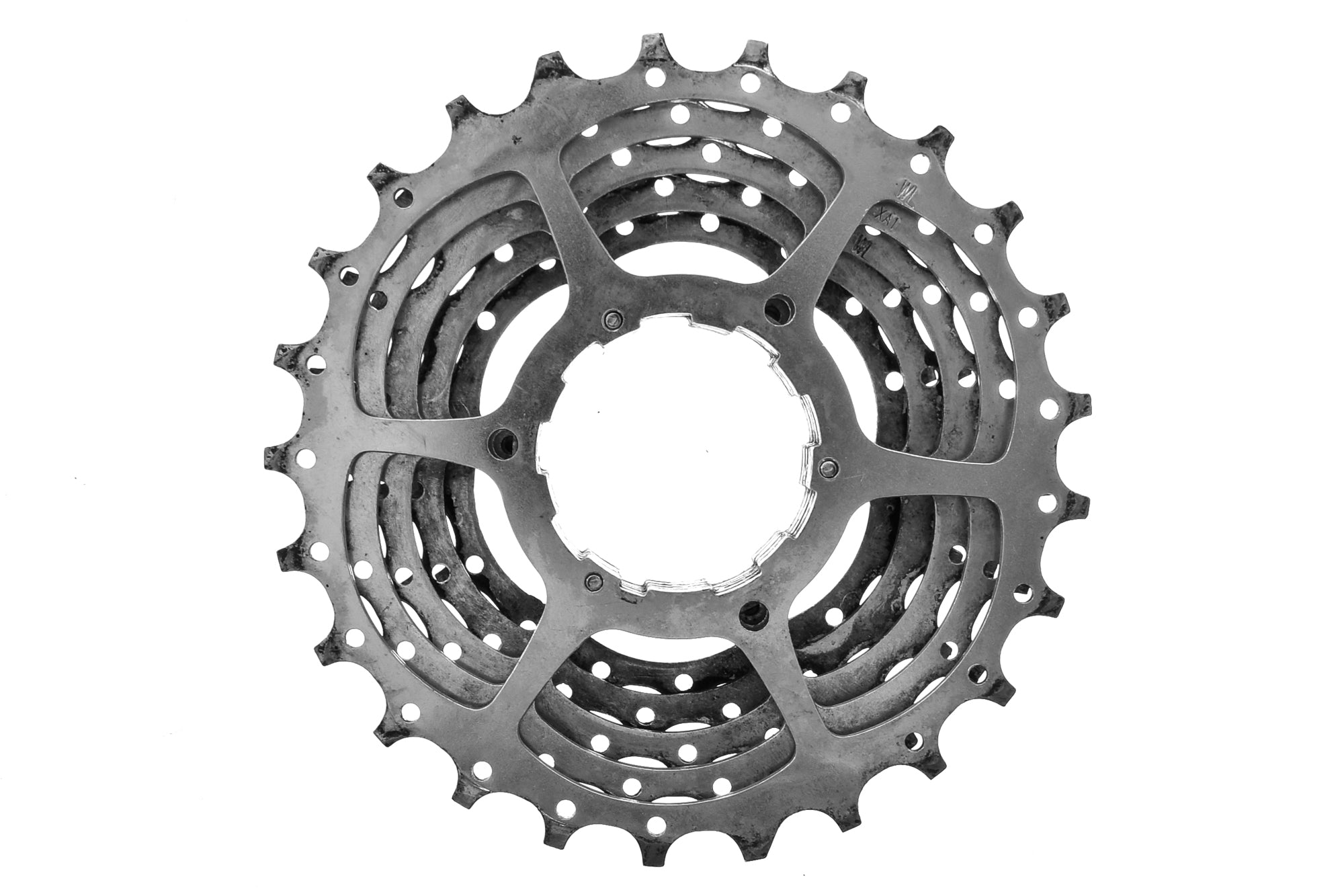 Shimano HG-70-9 Cassette 12-25T 9 Speed Road Bike non-drive side