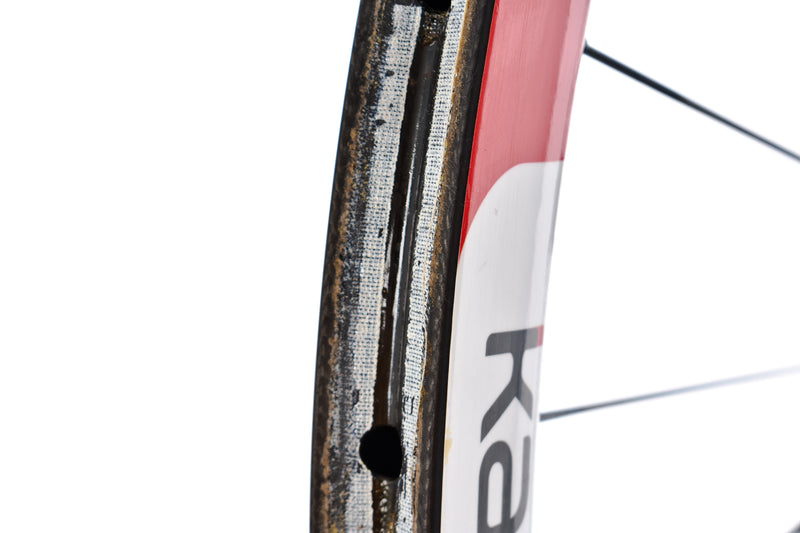 Kappius Components Carbon Tubular Road CX Cyclocross Bike Front Wheel 15x100 mm detail 3