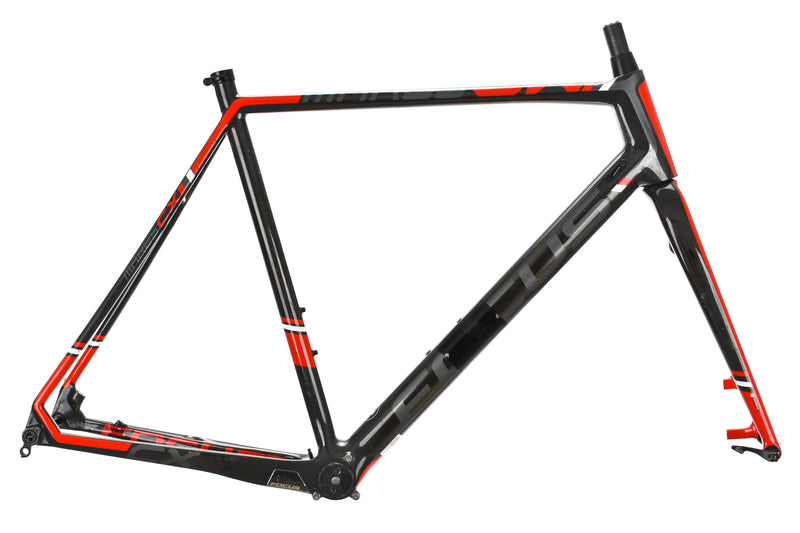 2016 Focus Mares Cyclocross Frame 60cm XX-Large Carbon Disc Thru Axle PF30 drive side