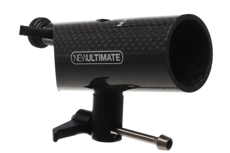 New Ultimate Bike Seat Mast Cap 30.0x75mm Carbon Road MTB non-drive side