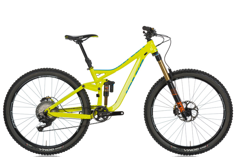 "2017 Jamis Defcon 1 Mountain Bike 15in SMALL 27.5"" Aluminum Deore XT Saint Fox drive side"
