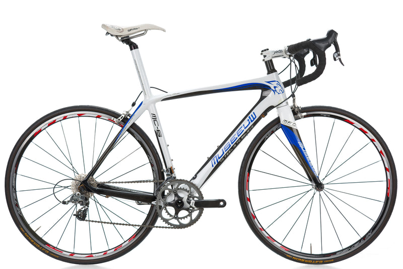 Museeuw MC-6 Road Bike 55cm LARGE Carbon SRAM Force drive side