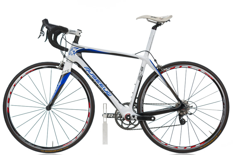 Museeuw MC-6 Road Bike 55cm LARGE Carbon SRAM Force non-drive side