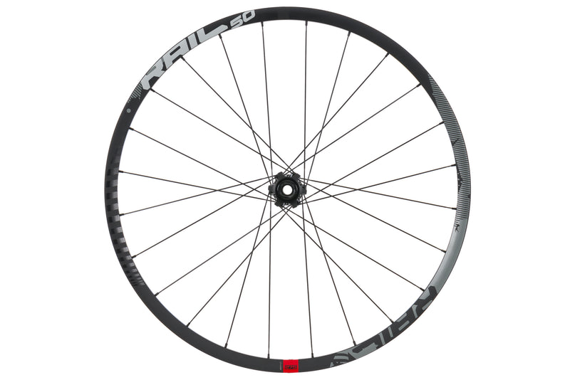 "SRAM Rail 50 Mountain Bike Front Wheel 27.5"" Tubeless Aluminum 15x100mm / 20x110 drive side"