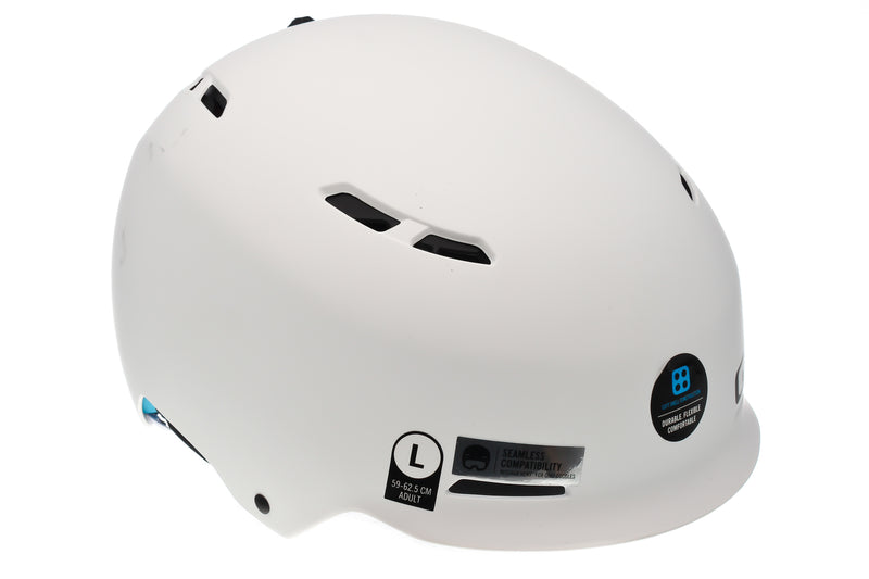 Giro Discord Snow Sports Helmet Large 59-62.5cm Matte White drive side