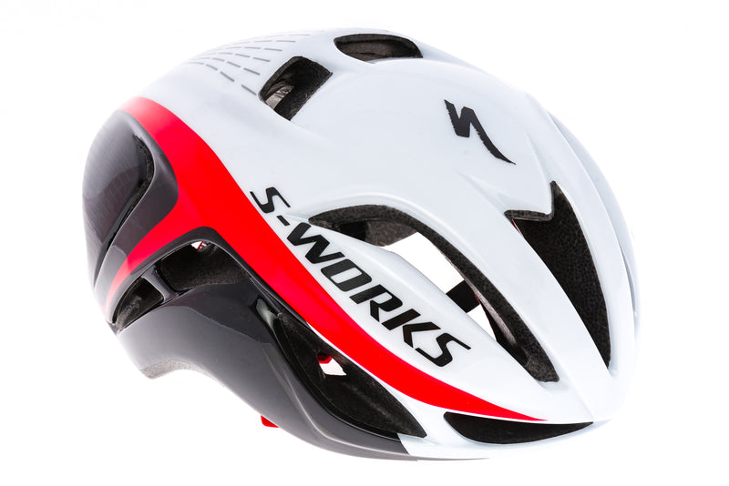 Specialized S-Works Evade Helmet Large 57-63cm Red/White/Black drive side