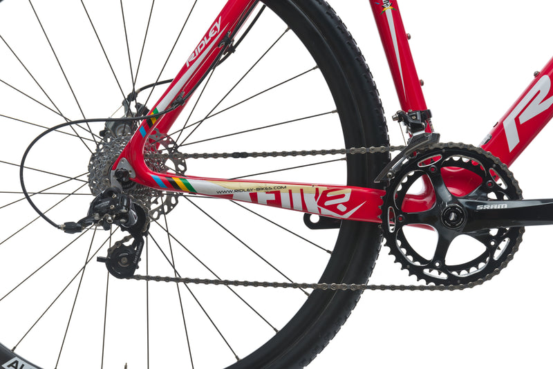 Ridley X-Fire Disc 50cm Bike - 2013 sticker