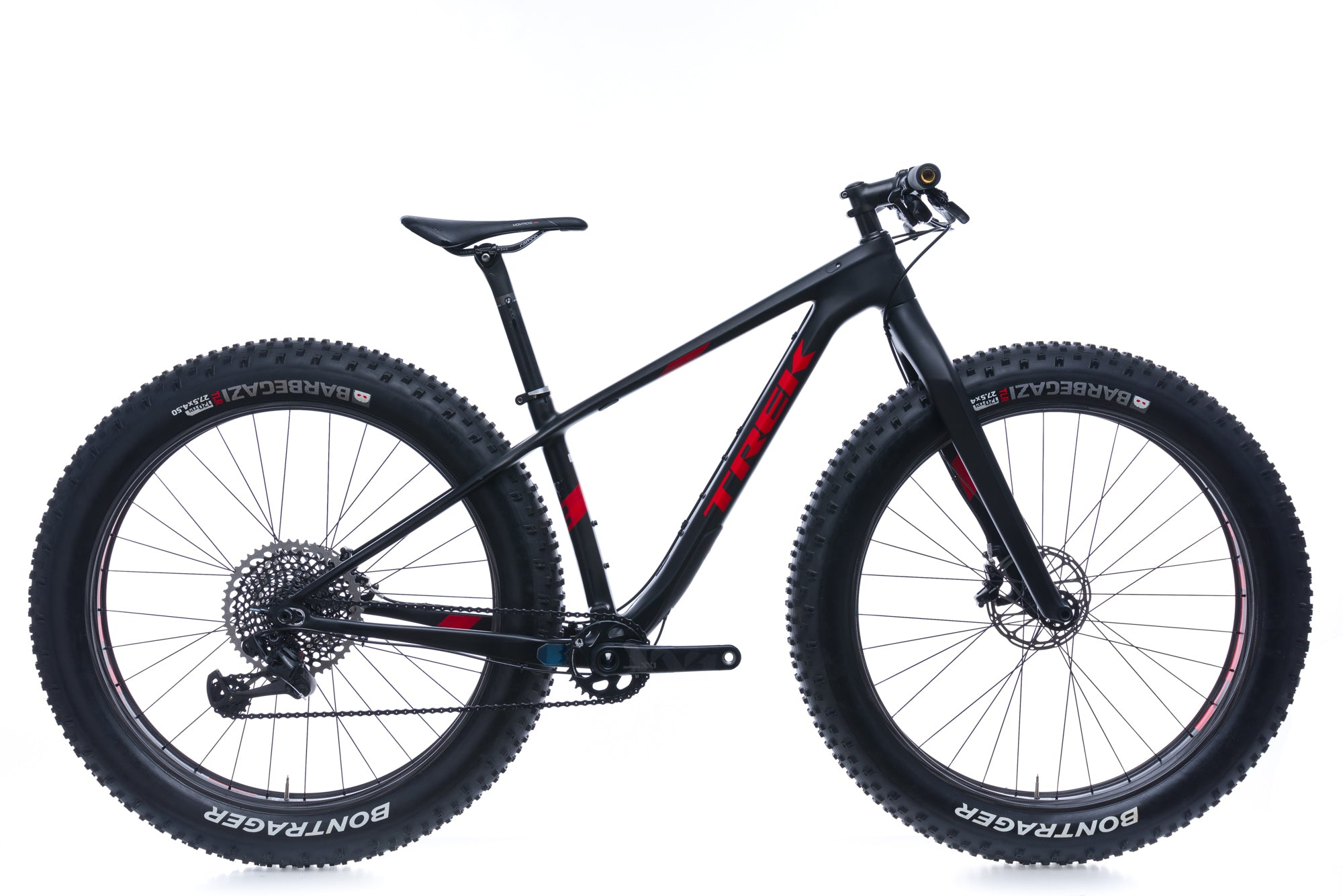 Trek Farley 9.9 15.5in  Bike - 2017 drive side