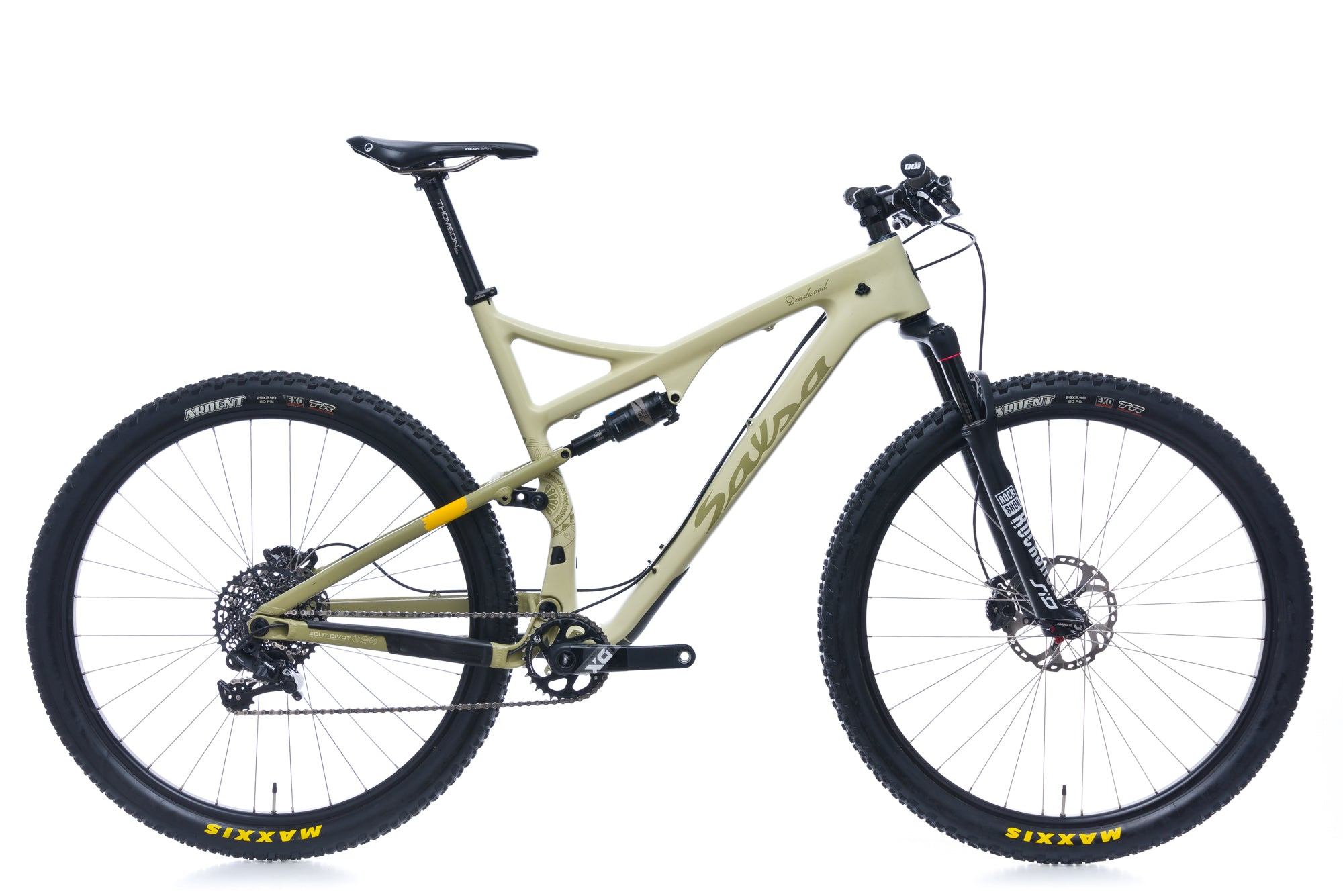 Salsa Deadwood XL Bike - 2017 drive side