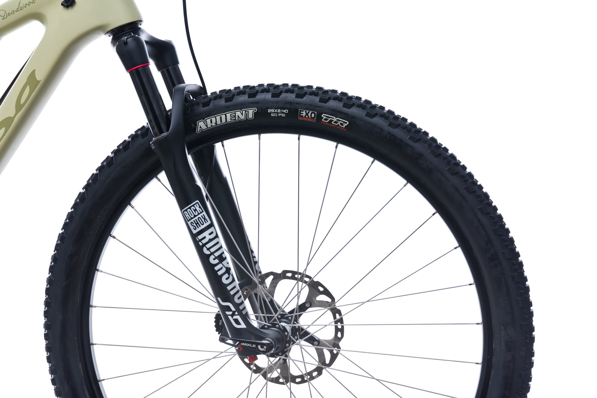 Salsa Deadwood XL Bike - 2017 front wheel