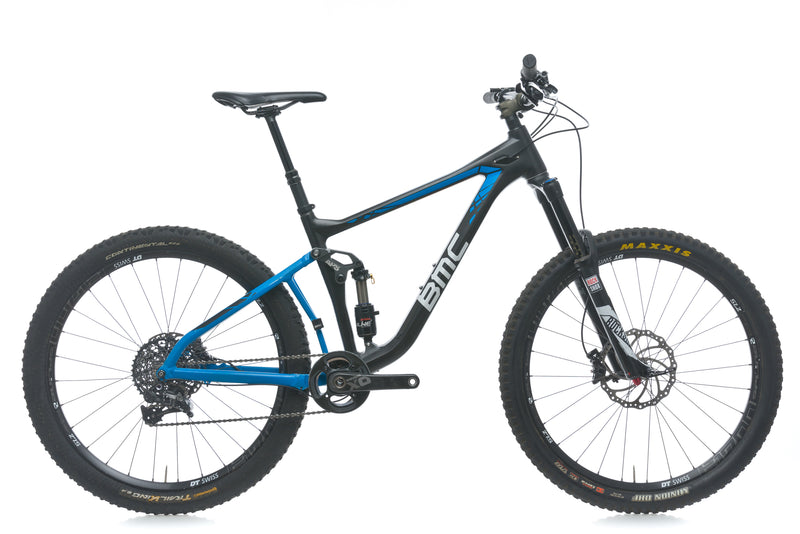 BMC Speedfox 02 Trailcrew Medium Bike - 2016 drive side