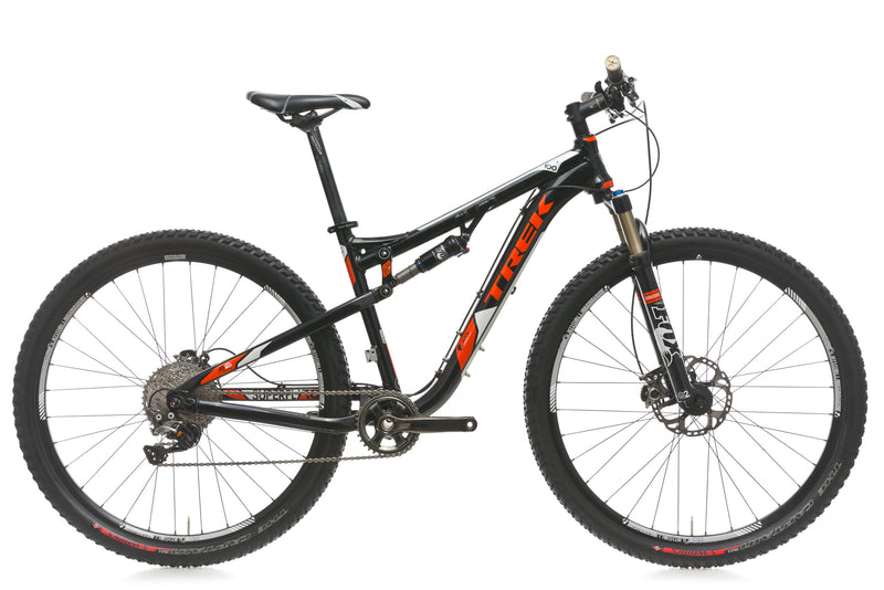 Trek Superfly 100 AL 17.5in Bike - 2012 drive side