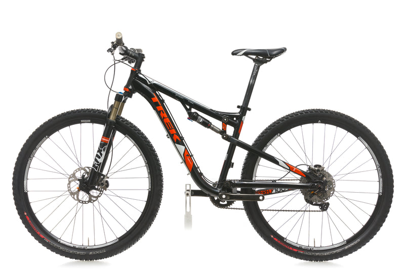 Trek Superfly 100 AL 17.5in Bike - 2012 non-drive side